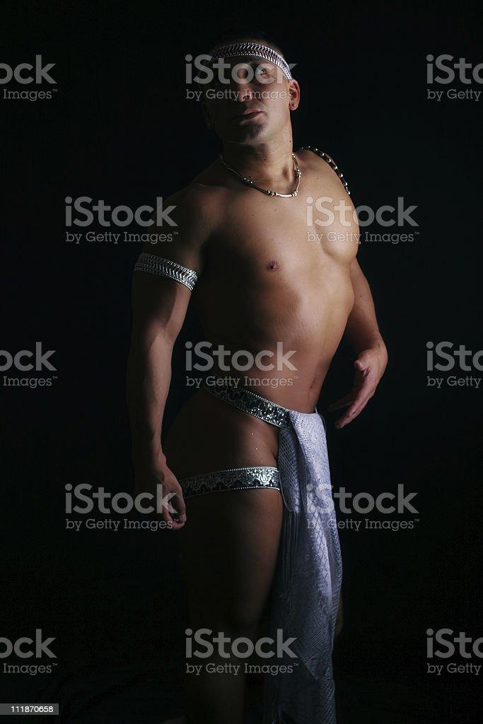 Sacred Guy royalty-free stock photo