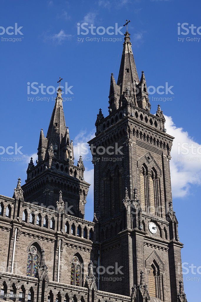 Sacred Heart Cathedral of Shenyang royalty-free stock photo
