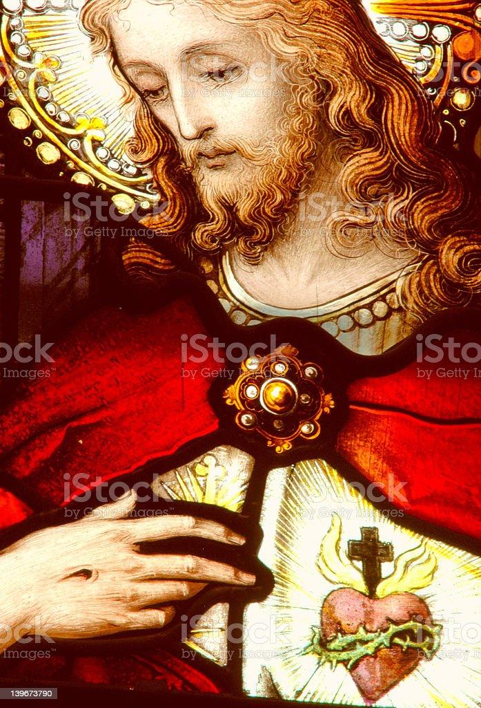 Sacred Heart stock photo