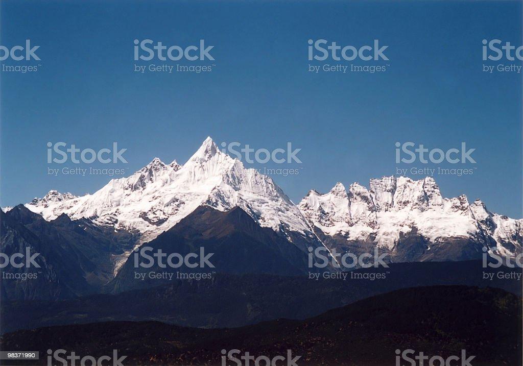 sacred peak royalty-free stock photo