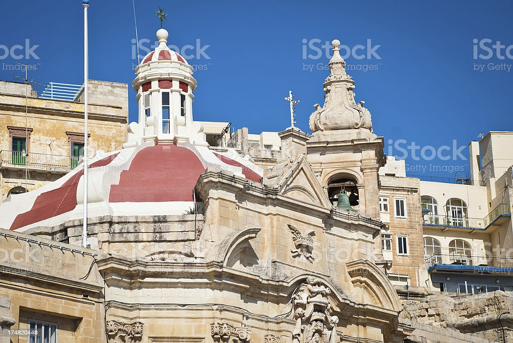 Sacred Rooftops royalty-free stock photo