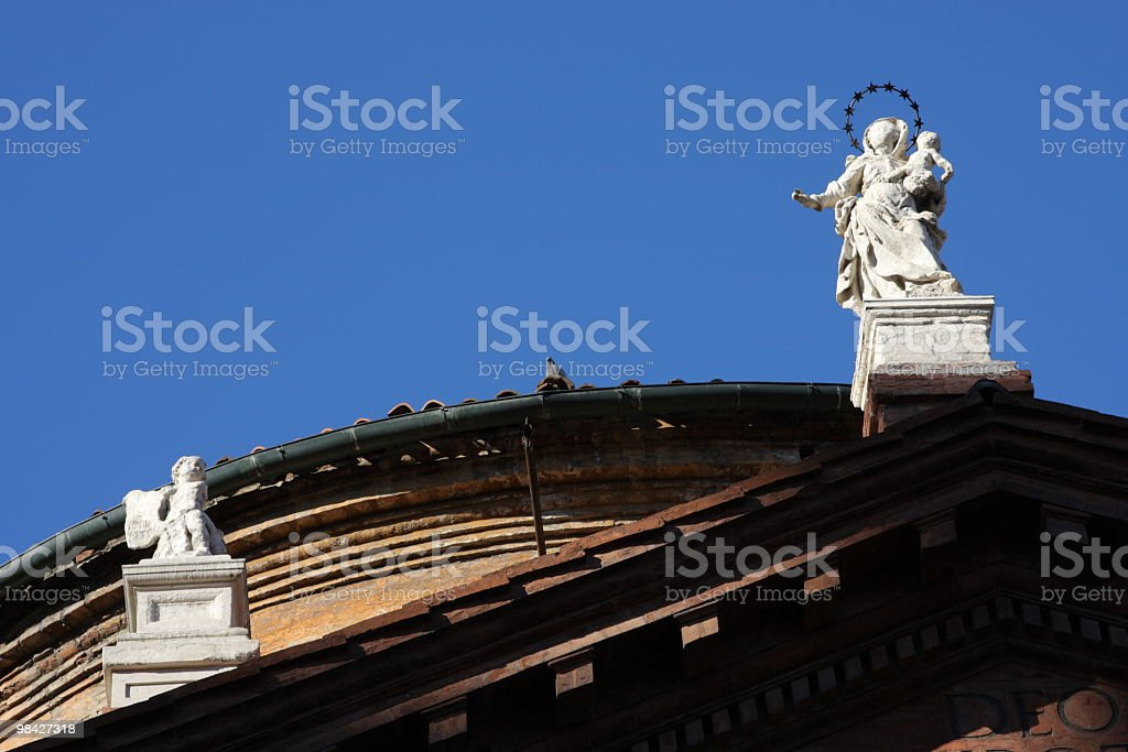 Sacred Statue royalty-free stock photo