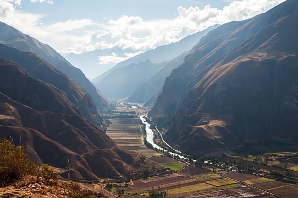 Sacred Valley, Peru stock photo