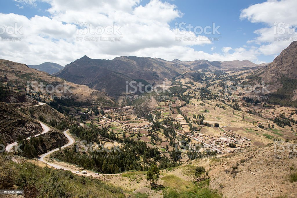 Sacred valley, Peru stock photo