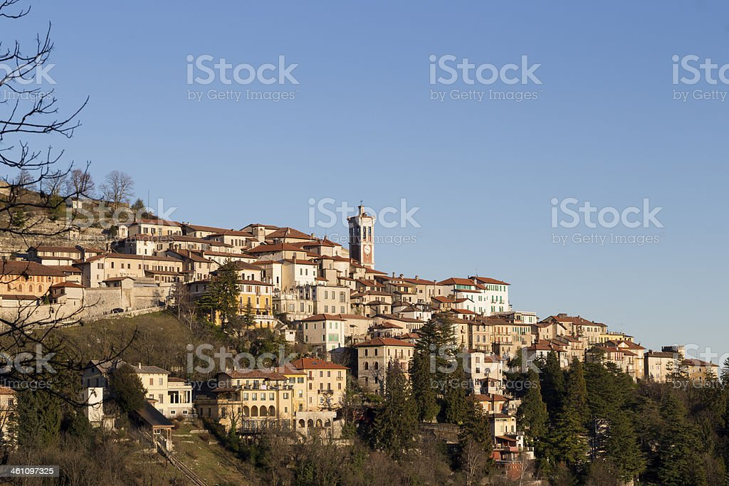 Sacro Monte - Italy stock photo