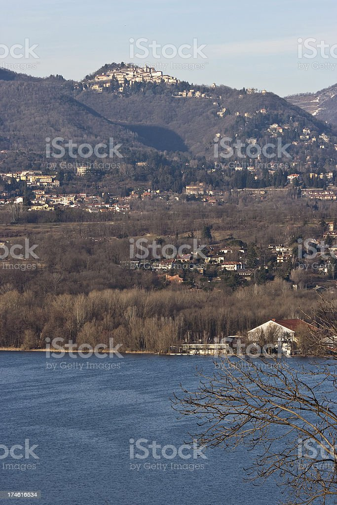 Sacro Monte Varese royalty-free stock photo