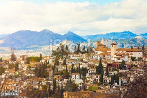 istock Sacromonte district in Granada 170639637