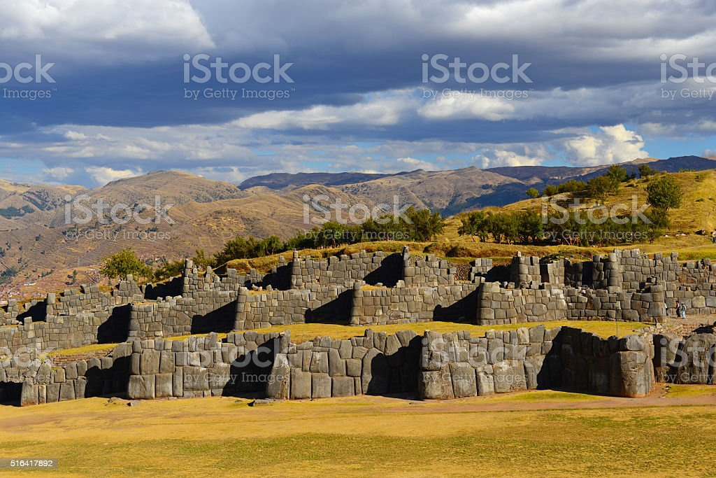Sacsayhuaman stock photo