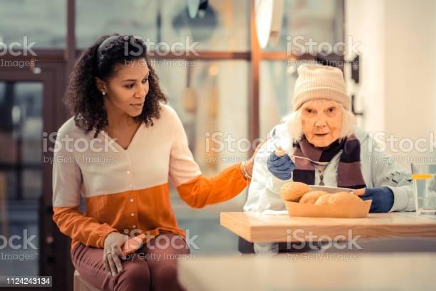 Sad aged woman having a tasty meal picture id1124243134?b=1&k=6&m=1124243134&s=612x612&h=fgz5qgh43edzkxgopmaev8d6dbmk0qqjgvkktza4h28=