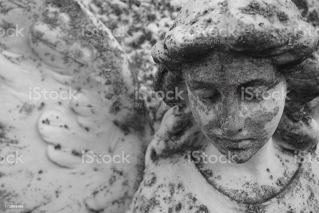 Sad Angel stock photo