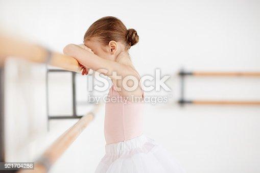 1128473822 istock photo Sad ballerina 921704286