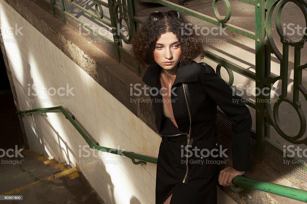 Sad Beauty royalty-free stock photo