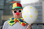 Sad Birthday Clown