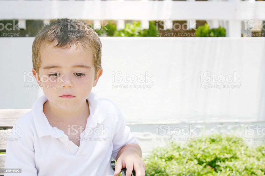 sad boy 2 royalty-free stock photo