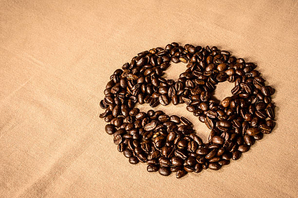Sad Coffee stock photo