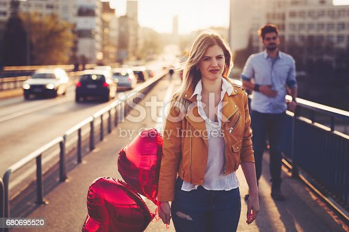 istock Sad couple breakup relationship after argument 680695520