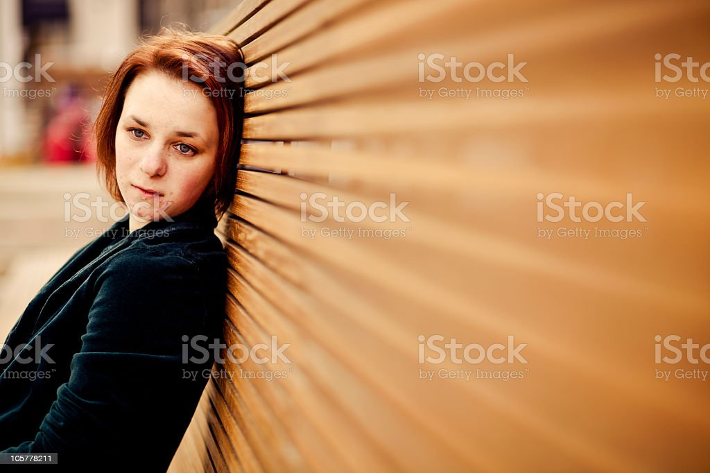Sad Day (with space for text) stock photo