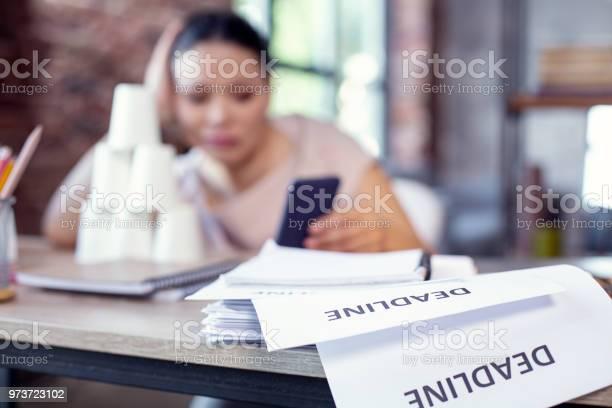 Sad female freelancer facing deadline picture id973723102?b=1&k=6&m=973723102&s=612x612&h=hxitqebnhywlge02jqf6rfphbadedgxxeucqmr03yjc=