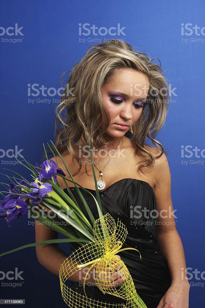 Sad girl royalty-free stock photo