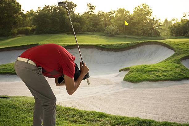 Traurig-Golfspieler – Foto