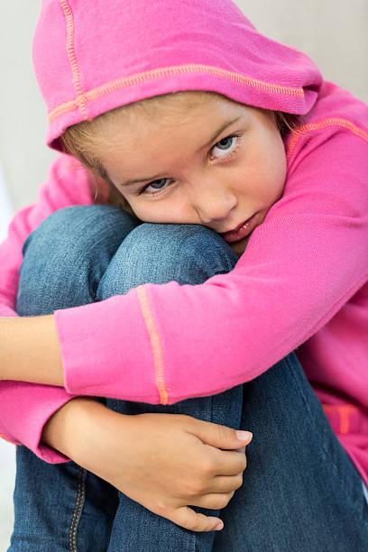 Sad and Depressed Teenage Girl Stock Footage Video (100%