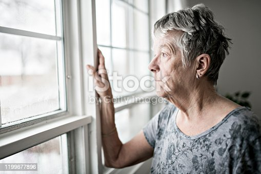 istock A sad lonely 70 years old senior in is apartment 1199677896