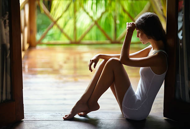 Royalty Free Crying Shower Depression Women Pictures ...