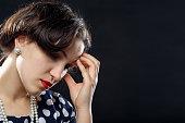 istock sad pensive woman 880608046