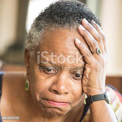 874789168istockphoto Sad senior woman 641514110