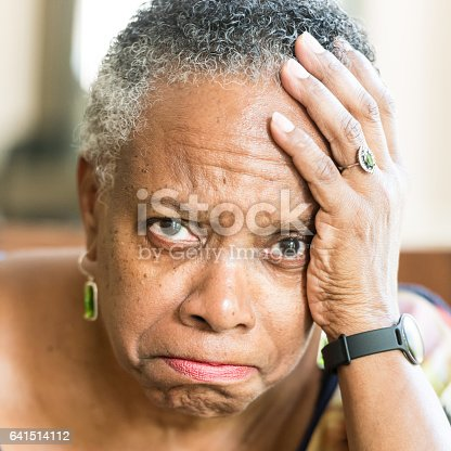 874789168istockphoto Sad senior woman 641514112