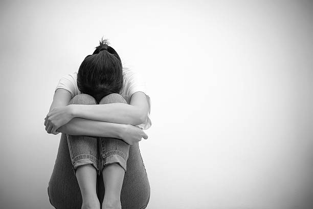 sad woman - child abuse stock pictures, royalty-free photos & images