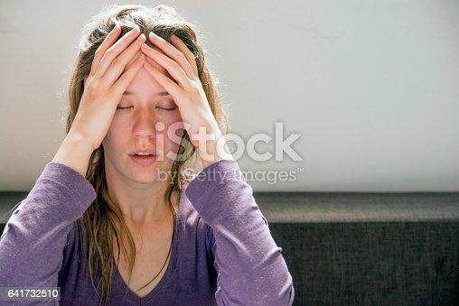 istock Sad woman 641732510