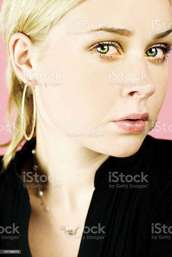Sad Woman With Tears In Her Eyes Stock Photo Download Image Now Istock