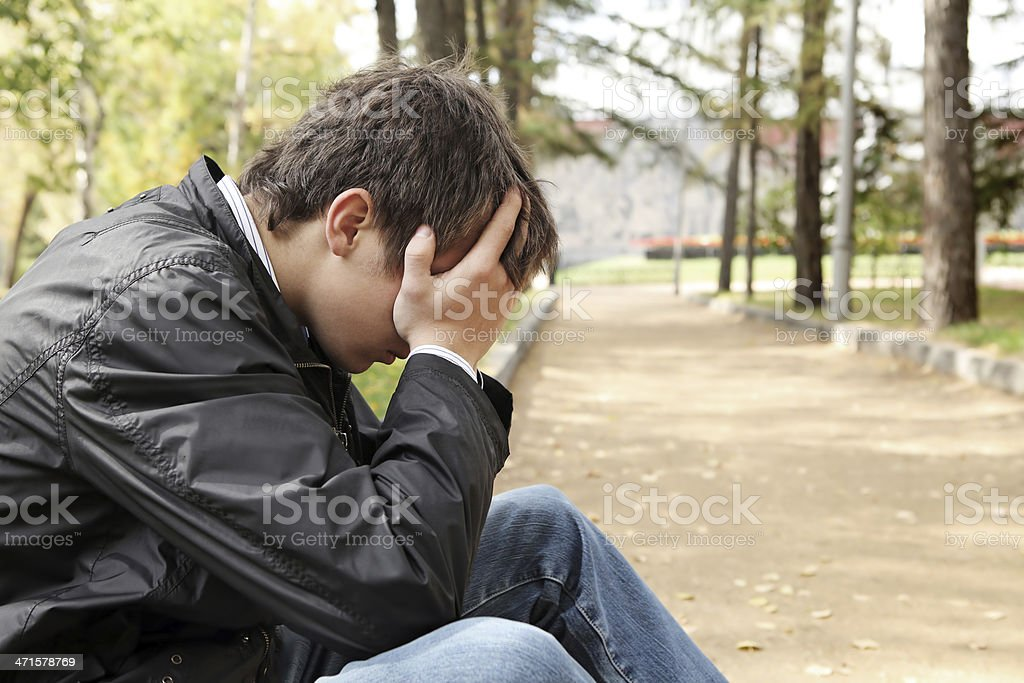 Sad Young Man Stock Photo Download Image Now Istock