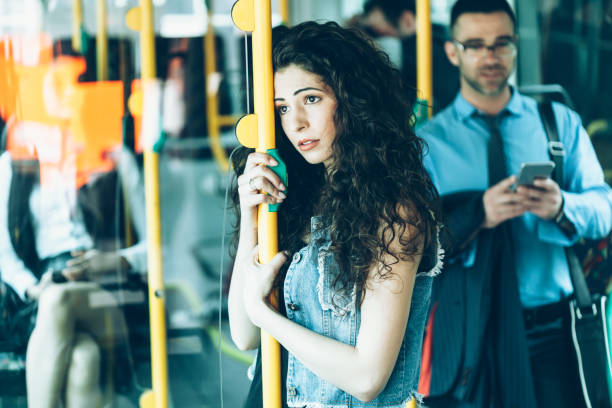 Image result for sad on bus station istock