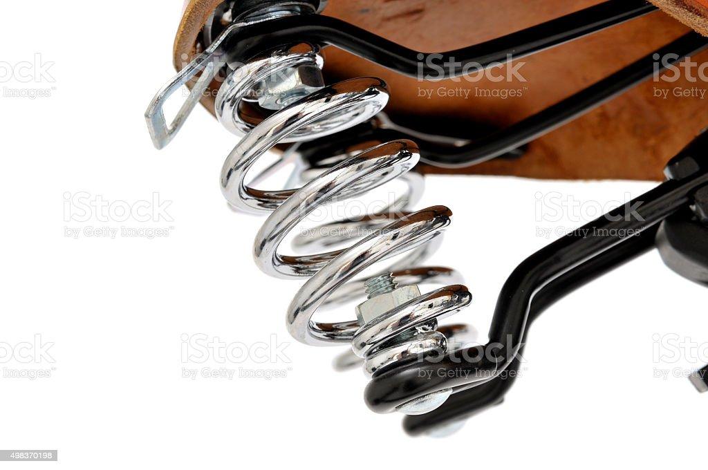 Saddle spring stock photo
