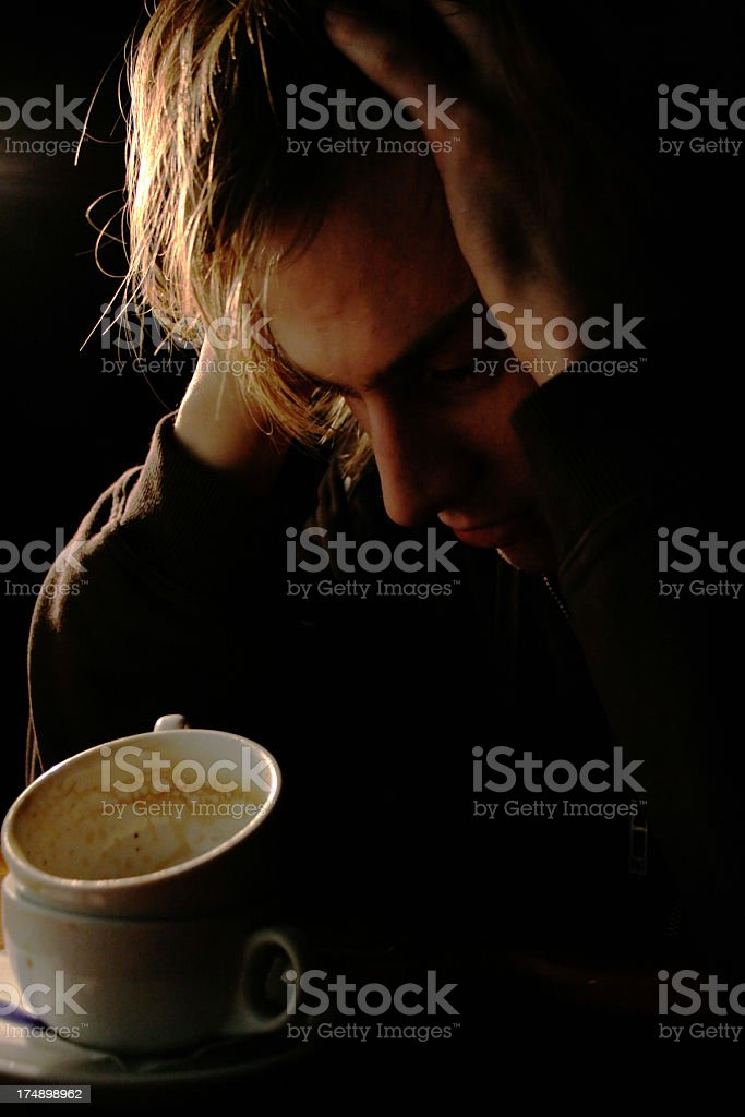 Saddness royalty-free stock photo