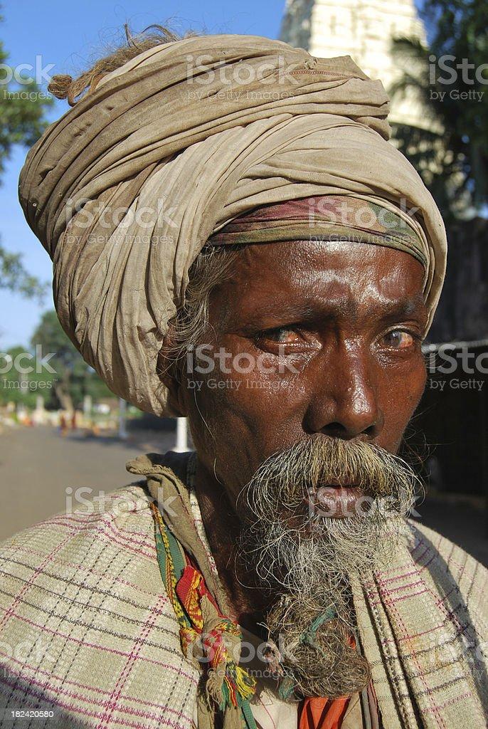 Sadhu Monk royalty-free stock photo