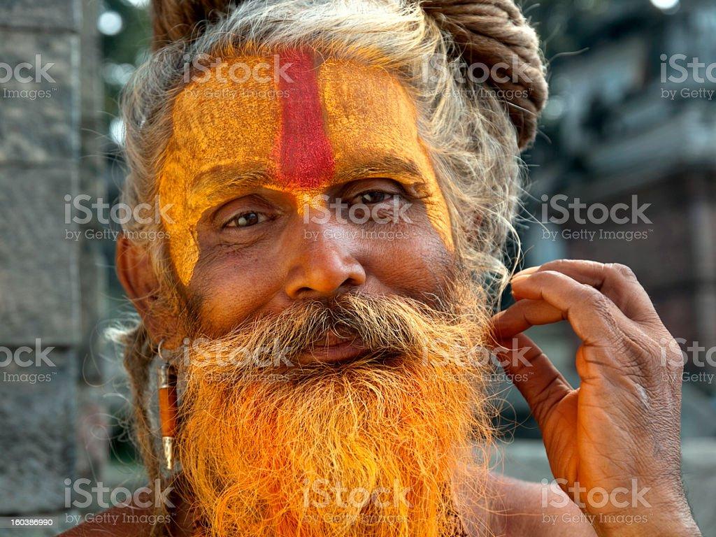 Sadhu. royalty-free stock photo