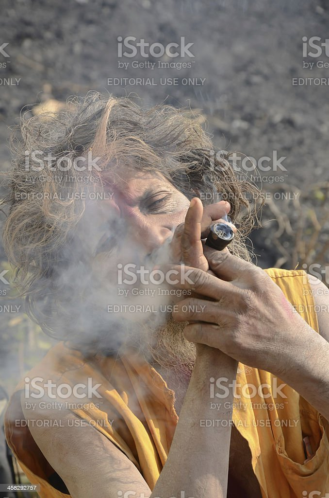 Sadhu royalty-free stock photo