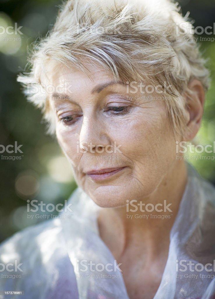 Sadness royalty-free stock photo