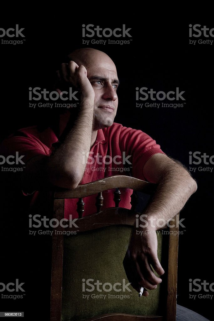 Sadness royalty-free stock photo