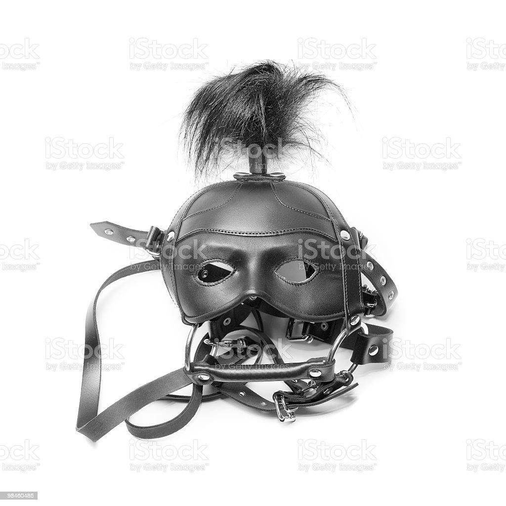 sadomasochism mask royalty-free stock photo