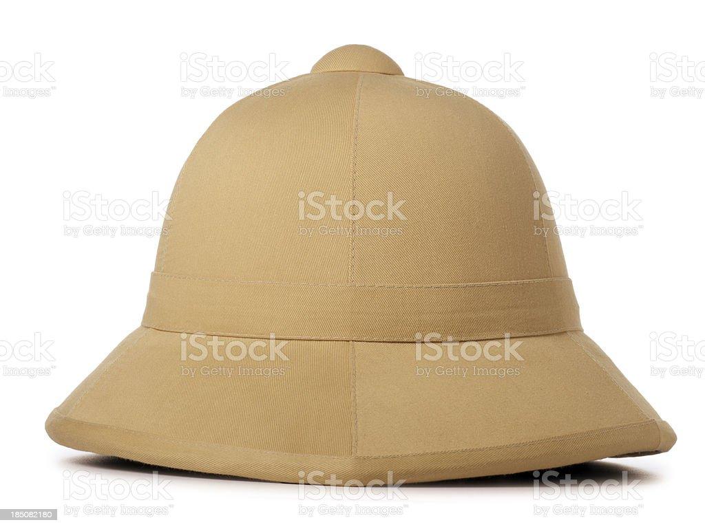 Safari Hat Isolated on White stock photo