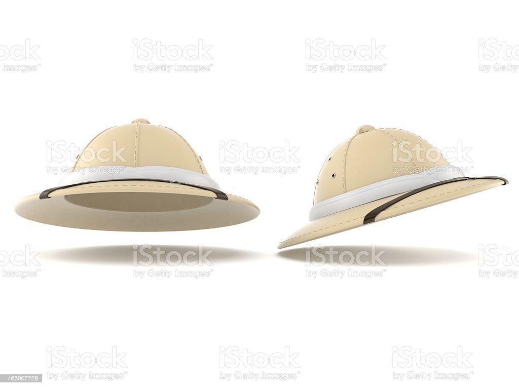 Safari hat stock photo