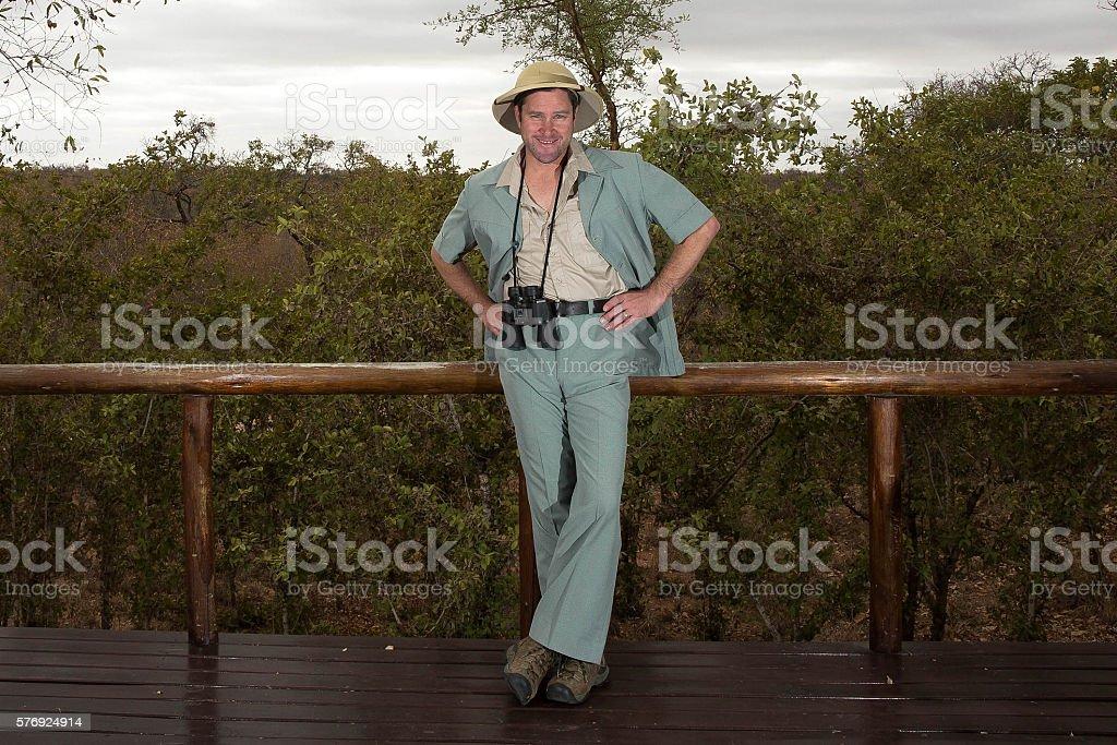 Safari Nerd stock photo