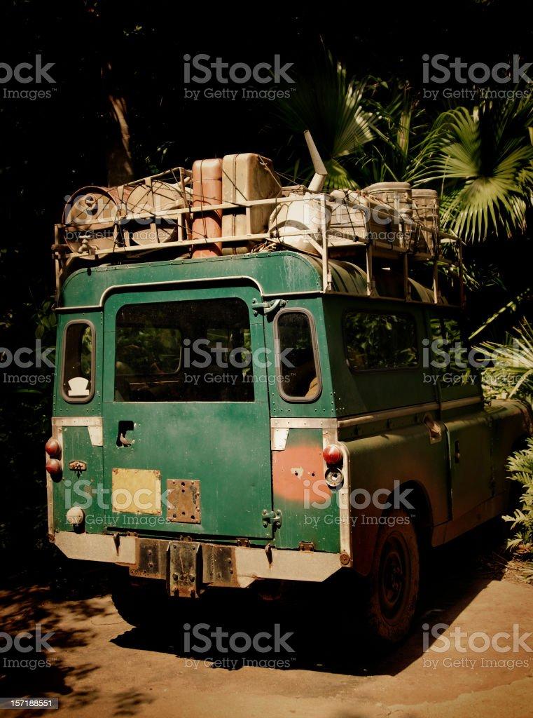 safari suv royalty-free stock photo