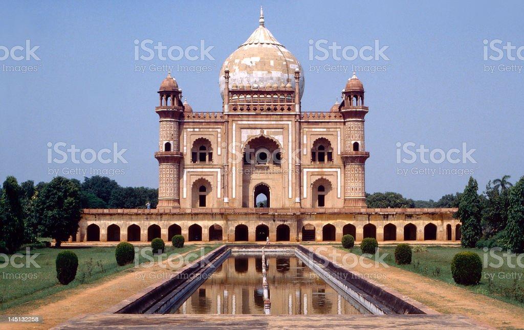 Safdarjang Tomb in Delhi/India royalty-free stock photo