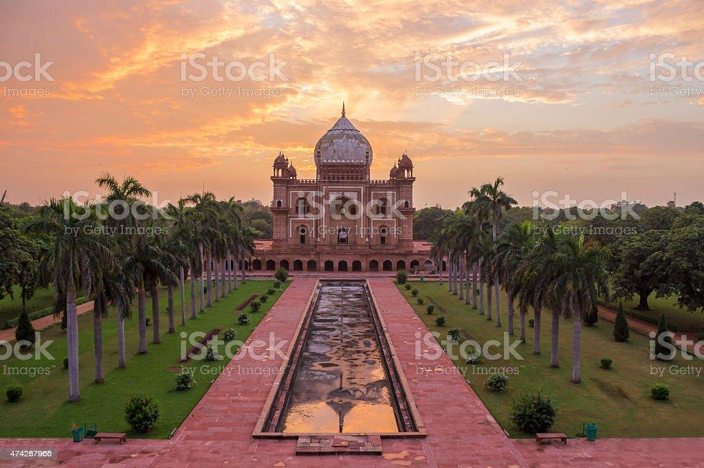 Safdarjung's Tomb, Tomb of Safdarjung, Delhi, India stock photo