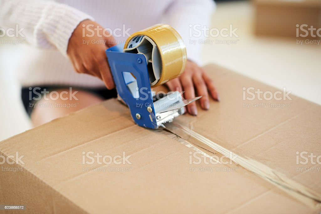 Safe and sealed stock photo